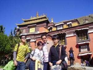 Tashi Lhunpo Monastery,  Shigatse - Tibet