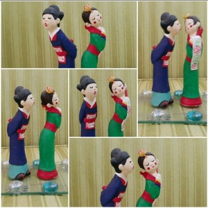 Pasangan Tradisional Korea yang sarat simbol bahasa tubuh