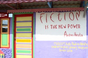 Fiction is the new power by Andrea Hirata