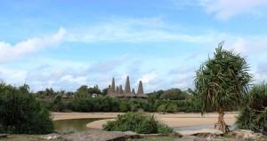 Kampung Ratenggaro dari seberang