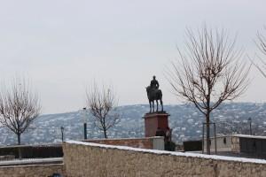 Memandang hamparan kota Budapest