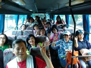 Keliling Depok naik bus