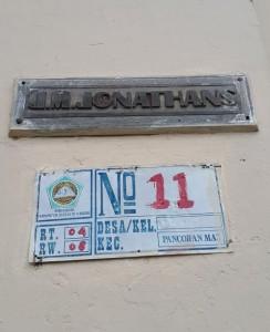 nomor rumah presiden depok