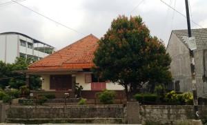 salah satu rumah tua depok