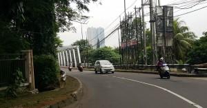 sudut jalan kota depok