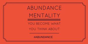 Abundance-mentality